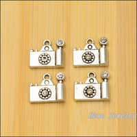 wholesale 60pcs retro Camera  charm Tibetan silver  fit  for  Necklaces & Pendants  metal jewelry findings