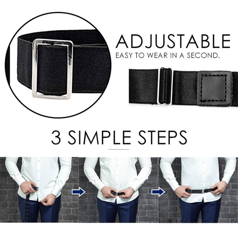 Adjustable Near Shirt Stay Best Tuck It Belt Shirt Holder Belt for Women Men