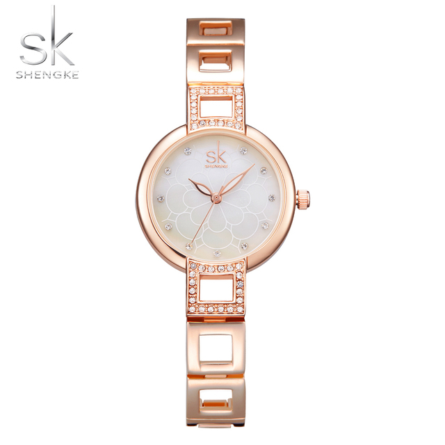 20c582e67 Shengke Women Watches Fashion Bracelet Wrist Watches Top Luxury Brand Girl Watch  Formal Dress Clock For