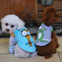 Dog Cotton Vest Clothes Big Eyes Cartoon Themed