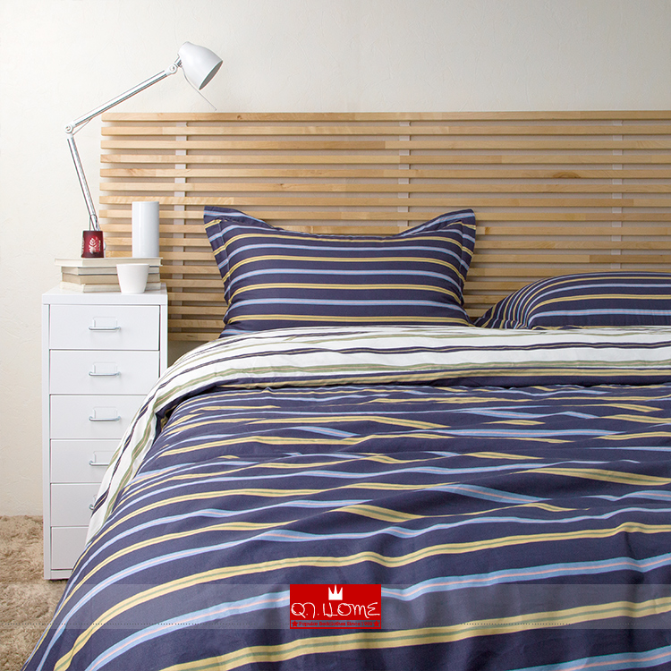 Modern Brief Bed Sheet Set Europe Ikea Style Room King Queen Size 100 Cotton Stripe Printed Bedding Tlpq003 In Sets From Home