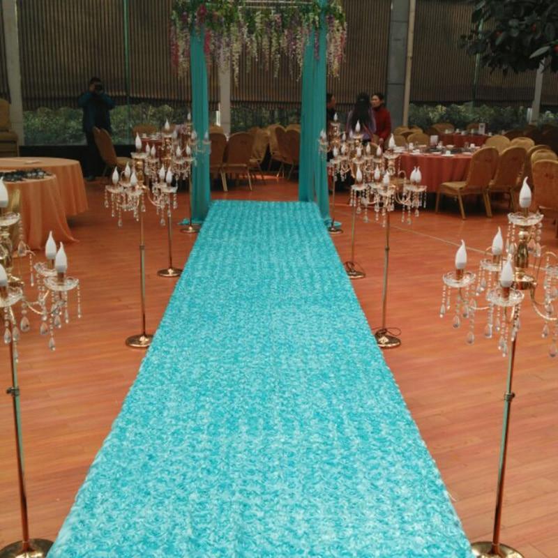 White Runner Rug For Wedding