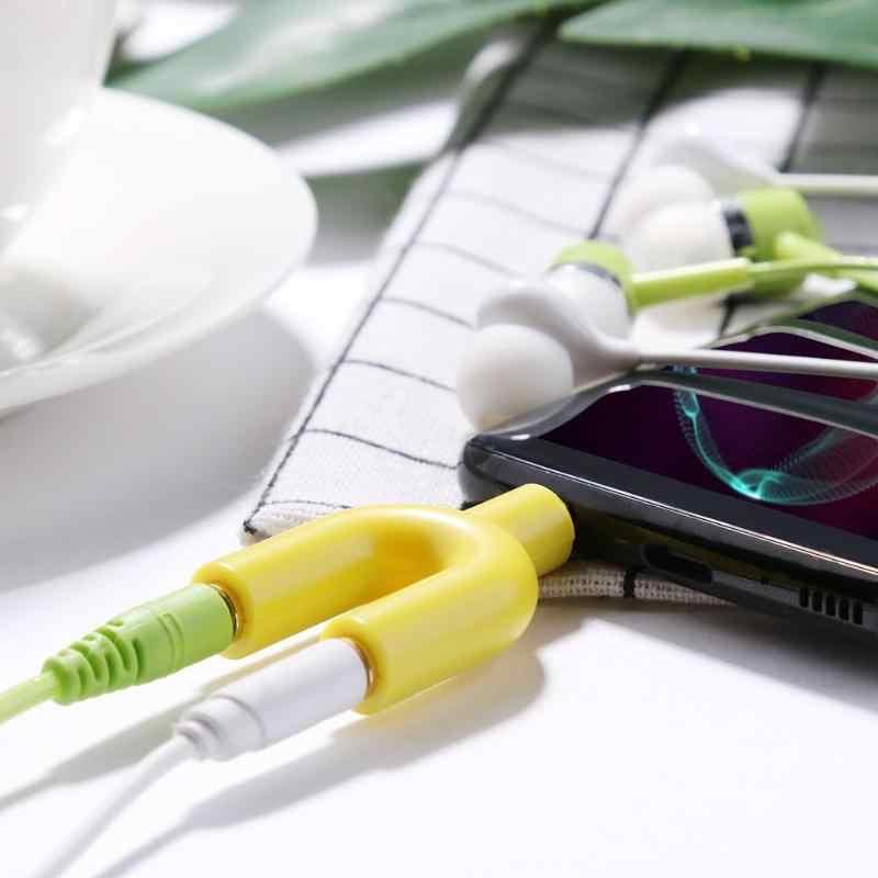 3.5mm rozszerzenie słuchawki słuchawki rozdzielacz audio 1 męski na 2 żeńskie adapter do kabla konwerter złącze wtyczka do podwójne