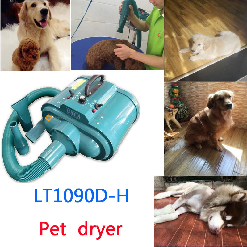 1pc LT1090D-H Double Motors 500W-3600W 220V Innovative Superpower Grooming Pet Dog Hair Dryer machine