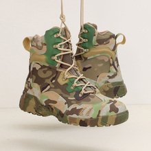 Be A Wolf Sport Wandelschoenen Outdoor Tactical Camping Schoenen Herenlaarzen Klimmen Ademend Reizen Lichtgewicht Mountain Boots