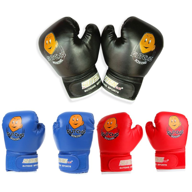 Kids Boxing Gloves Protective Punching Bag Training Gloves for Child Age 3-12