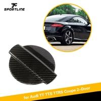 Carbon Fiber Engine Oil Tank Filler Water Tank Lid Cap Cover Retrofit For Audi TT Quattro TTS TTRS Coupe 2 Door Carbon Fiber
