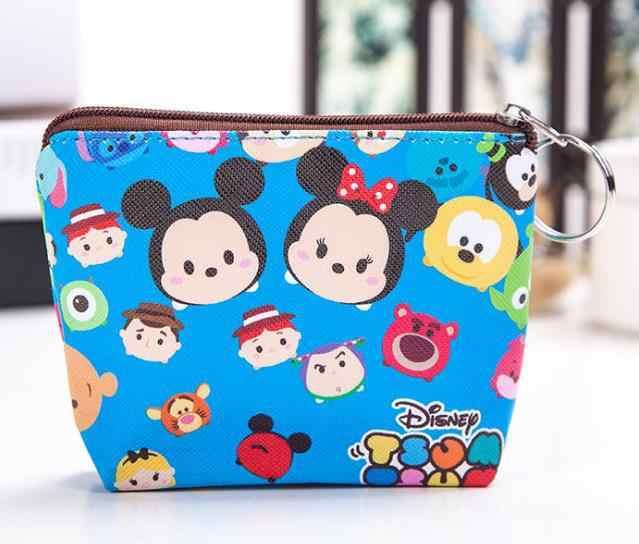 Disney prinzessin kinder cartoon plüsch münze pu geldbörse Meerjungfrau Gefrorene mädchen tasche münze Elsa handtasche junge Mickey Kupplung plüsch brieftasche
