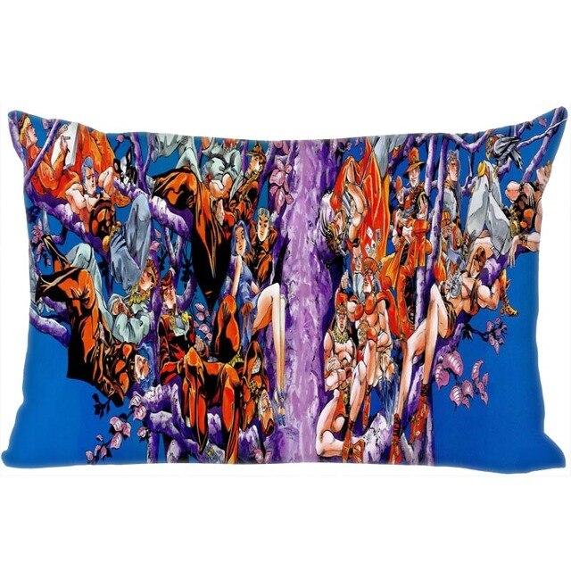 Jojo's Bizarre Adventure Pillowcase 45x35cm(One Side) New Rectangle Zipper Print Throw Wedding Decorative Pillowcase Cover 2
