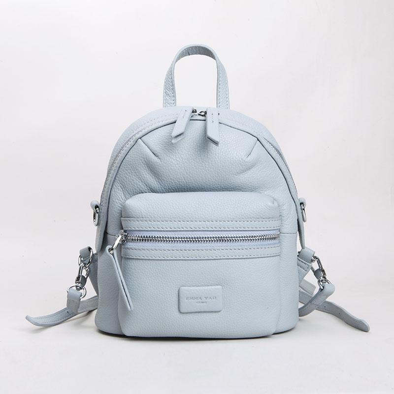 EMMA YAO Brand fashion font b women b font font b backpack b font mini genuine
