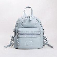 EMMA YAO Brand fashion women backpack mini genuine leather women bag fashion backpack