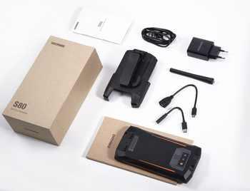 Fast shipping IP68 DOOGEE S80 Waterproof shockproof 10080mAh 5.99\'\' MT6763T 6GB 64GB Smartphone 16MP Camera FHD+