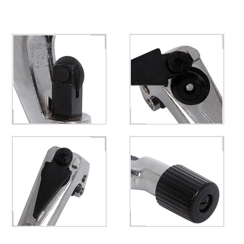 3-28mm/6-42mm Tube Pipe Cutter Aluminum Alloy With Spare Blade For Copper Steel Tube Hobbing Shear Cutting Tools