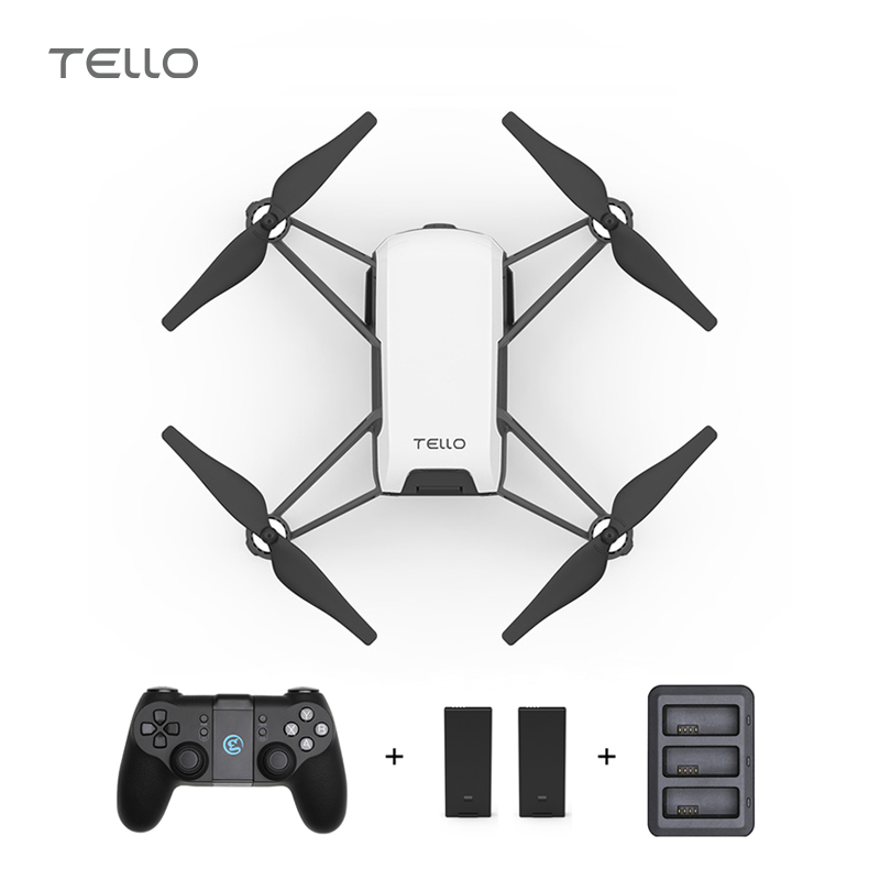 RYZE DJI Tello Mini Drone 720P HD Transmission Camera APP Remote Control Folding Toy FPV RC Quadcopter Drones add T1d Controller ryze tello drone with dji flight tech camera photography video quadcopter toy drone birthday gift children education