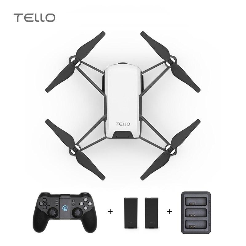 RYZE DJI Tello Mini Drone 720 P HD Transmission Caméra APP télécommande Pliage Jouet FPV quadcopter rc Drones ajouter T1d Contrôleur