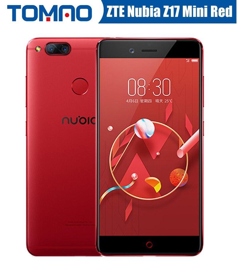 Original ZTE Nubia Z17 Mini 4G Mobile Phone 4 6G Ram 64G Rom 5 2 inch