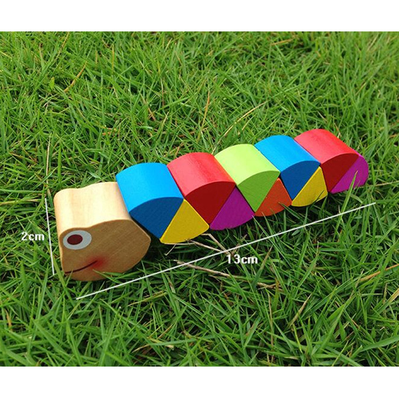 Wooden Insect Toy for Children 20