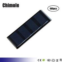 100pcs  0.2W 2V Mini Solar cells Panel polycrystalline solar cell battery Panel charger For DIY Solar Kits
