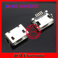 MC-022 100 ШТ./ЛОТ, Бесплатная доставка для Micro mini 5 P USB разъем разъем для телефона зарядки порт данных, с фиксированной точкой, 7.2 мм