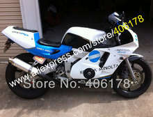 Лидер продаж, Aftermarket cbr250rr mc22 для Honda обтекатель комплект cbr250 rr Konica Minolta BIZHUB 90-94 мотоцикл обтекатель (литья под давлением)
