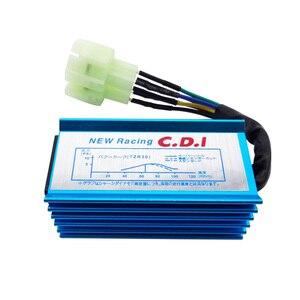 Image 5 - สีฟ้า 6 Pin Racing AC CDI GY6 รอบ Pin Ignition กล่องสำหรับ 50cc 90cc 110cc 125cc 150cc เครื่องยนต์ 2 จังหวะรถจักรยานยนต์สกู๊ตเตอร์ ATV Quad Buggy