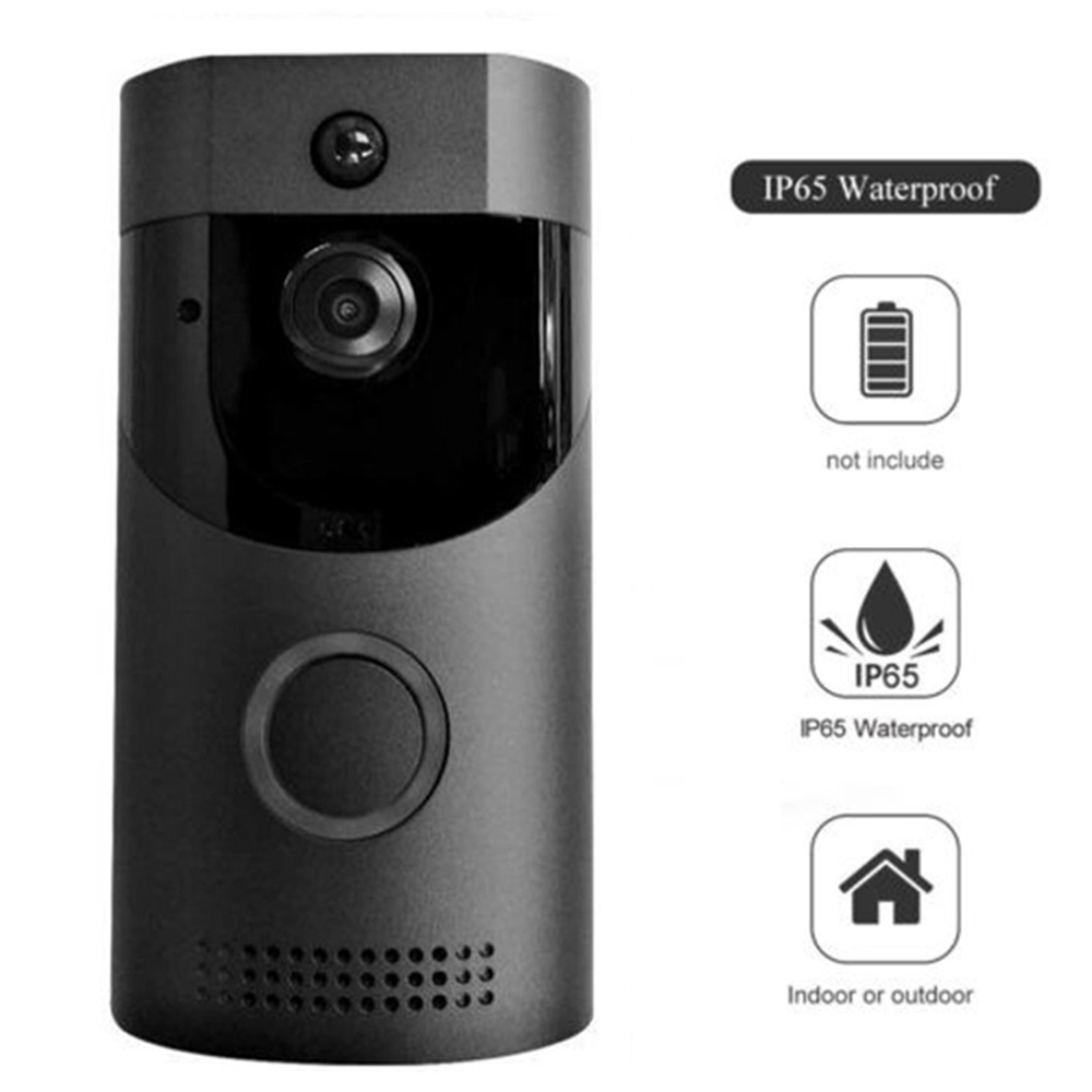 B30 720P wireless intercom FIR Alarm IR night vision IP camera WIFI Doorbell B30 IP65 waterproof