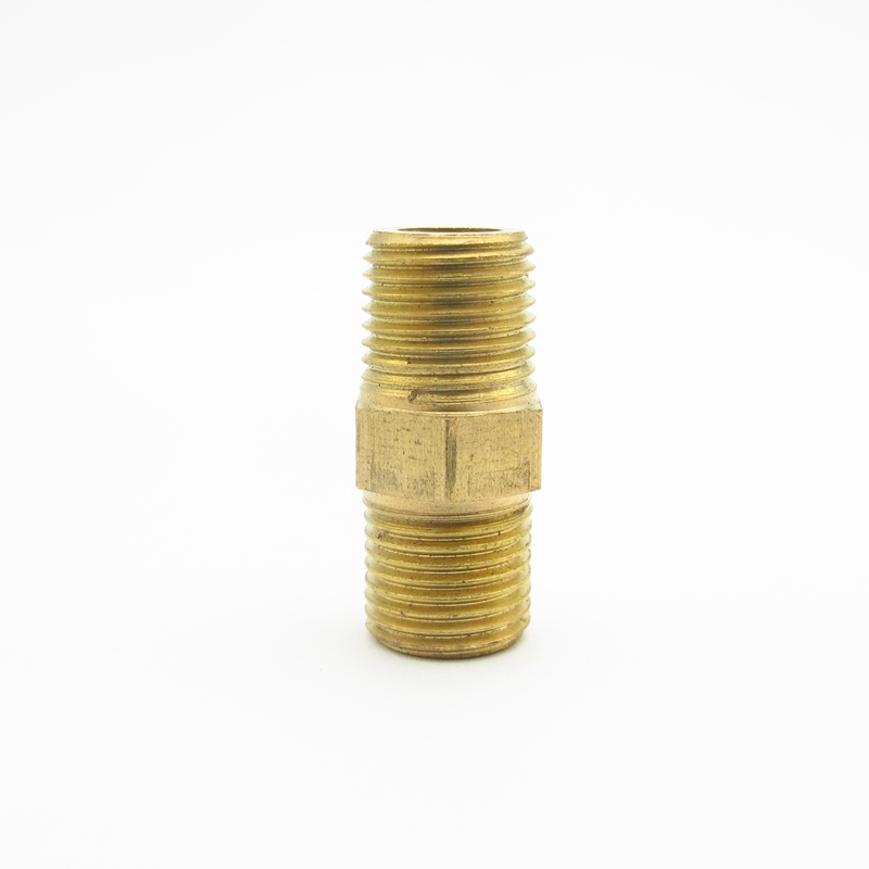 1//8BSP Female to 1//8BSP Male Brass Hex Thread Bushing Pipe Tube Adapter 5pcs