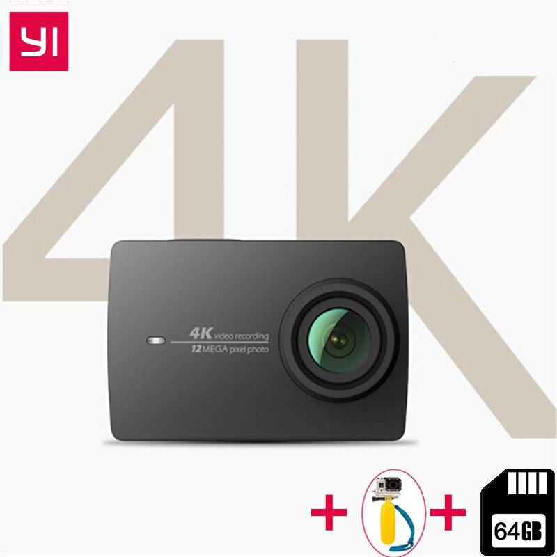 YI 4 K Cámara de Acción Ambarella A9SE ARM 4 K/30 2,19