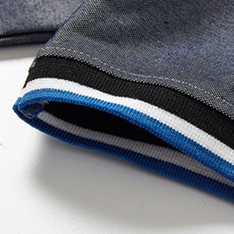 Summer New In 2019 Men's Casual High Quality Solid Color POLO Shirt Fashion Stretch Loose Men's Letter POLO Shirt 4XL 5XL