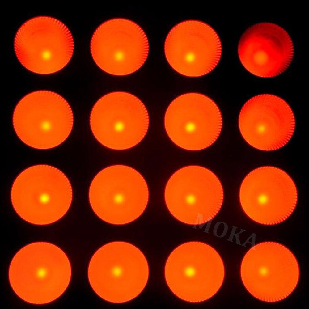 16*30W LED Matrix Light Bar DJ Party Stage Effect Lighting With LCD Display DMX512 Signal Auto, Master/Slave, Sound Active dmx512 control 5x5 led matrix light 5x5 led matrix led blinder stage effect lighting