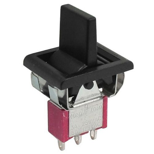 AC 250V/3A 125V/5A Momentary SPDT 3 Positions Toggle Switch T80-R купить дешево онлайн