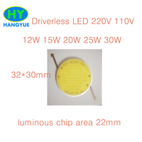 driverless PCB 80W 100W 120W 150W Round COB LED ceiling lamp own light LED Chip Light Lamp White Warm White cold white