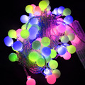 Retail 10M Led string light RGB single color 100led 110V-220V Decoration Light for Christmas Party Wedding Free shipping