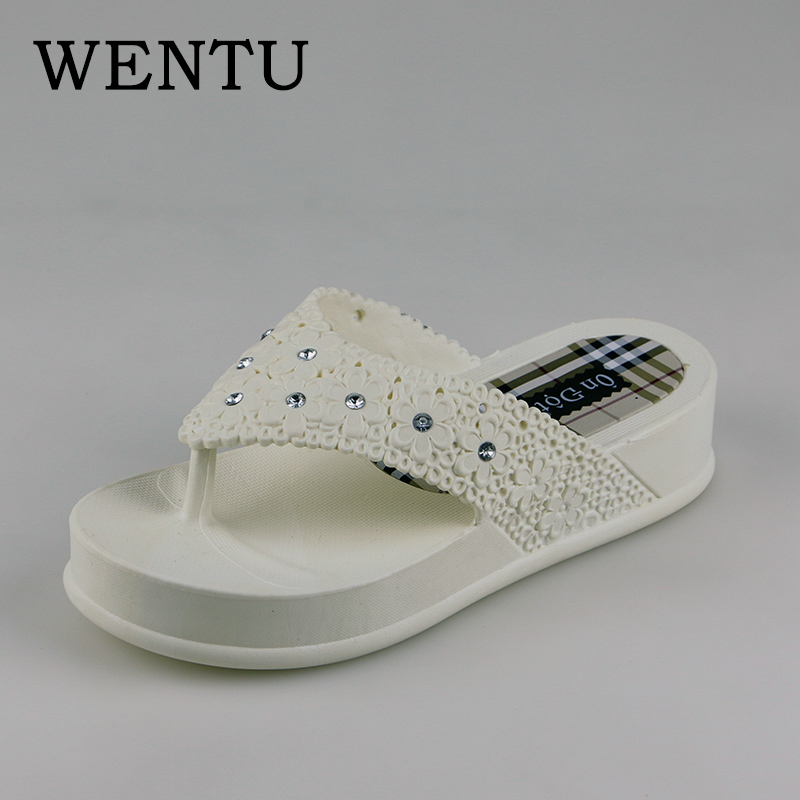 WENTU Woman Slippers 2018 New Summer Women Slides Platform Wedges Women Shoes Flip Flops Sandalias Zapatos Mujer phyanic 2017 gladiator sandals gold silver shoes woman summer platform wedges glitters creepers casual women shoes phy3323
