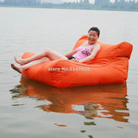 SOLID DURABLE EXCITING Floating Bean Bag Chair Outdoor Floating Bean Bag Pool Beanbag Land Relaxing Chair