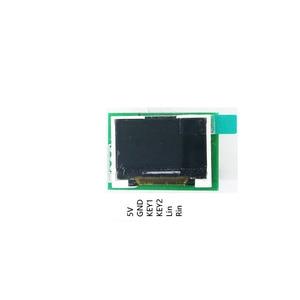 Image 2 - Dykb 0.96 Inch Kleur Oled Muziek Spectrum Display Analyzer W/Klok MP3 Versterker Audio Indicator Ritme Analyzer Vu meter