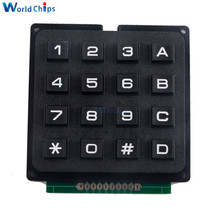 4x4 Matrix Keyboard Keypad Module Use Key PIC AVR Stamp Sml 4 * 4 Plastic Keys Switch For Arduino Controller