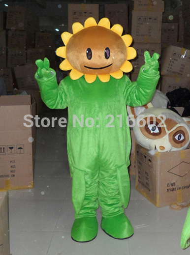 Sunflower Mascot Costume Custom Fancy Costume Anime Cosplay Costume for Halloween party event