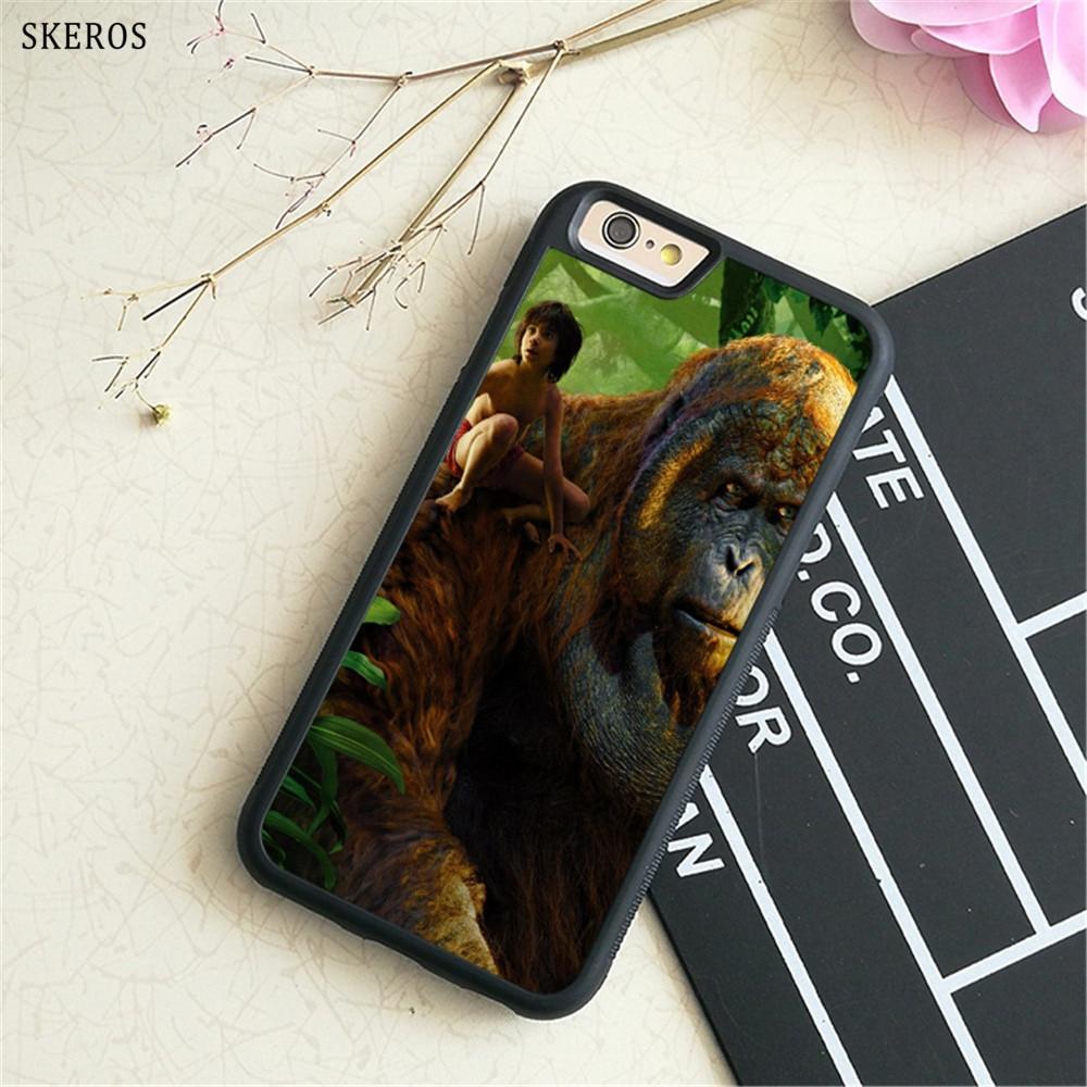 SKEROS The Jungle Book (2) phone case for iphone X 4 4s 5 5s 6 6s 7 8 6 plus 6s plus 7 & 8 plus #B731