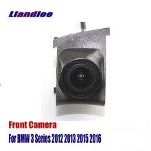 Vista dianteira do carro grill câmera para bmw série 3 e90 e91 e92 e93 f30 f31 f34 2012-2016 não se encaixam e46 g20 reversa câmera de estacionamento traseiro