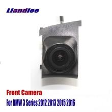 Liandlee AUTO CAM Car Front View Camera Logo For BMW 3 E90 E91 E92 E93 F30 F31 F34 2012-2016 ( Not Reverse Rear Parking Camera ) for bmw e90 e92 e93 f20 f21 f30 f31 f32 f33 f34 f15 f10 f01 f11 f02 g30 m performance side skirt sill stripe body decals sticker