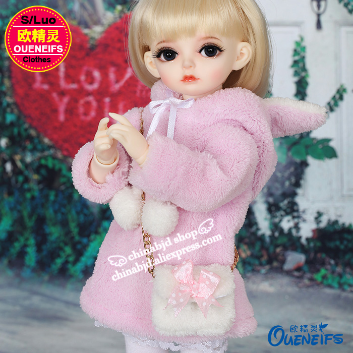 BJD SD Doll Clothes 1/6 Kawaii Style With Boots Small Span Package For Girl Boy Body  YF6-170 Doll Accessories  Luodoll
