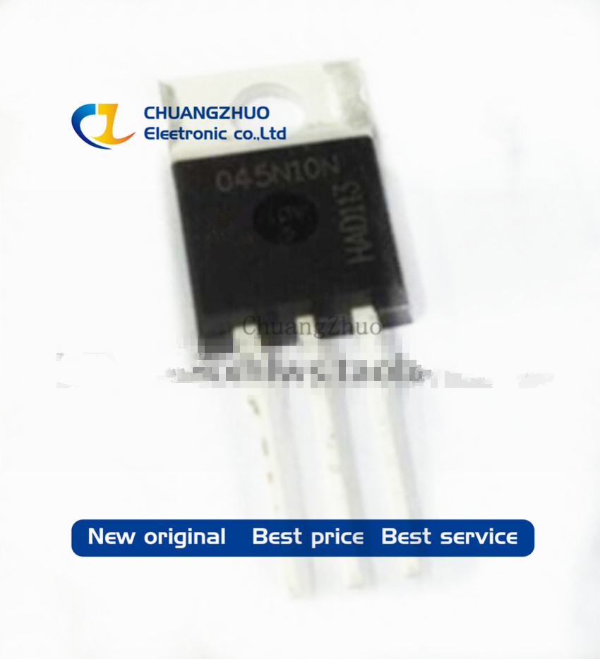 10pcs/lot New Original IPP045N10N 045N10N TO-220 100A100V