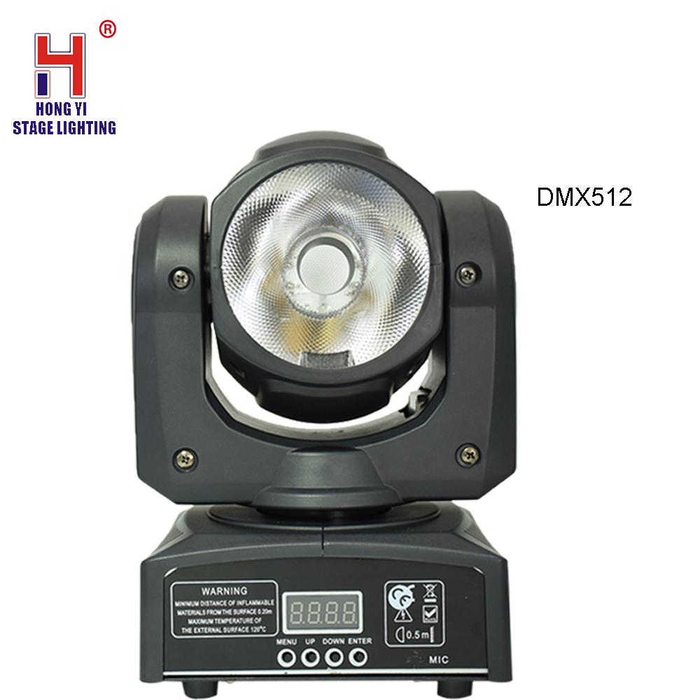 Mini Moving Stage Luce 60 W RGBW 4in 1 LED Moving Fascio di Luce TestaMini Moving Stage Luce 60 W RGBW 4in 1 LED Moving Fascio di Luce Testa