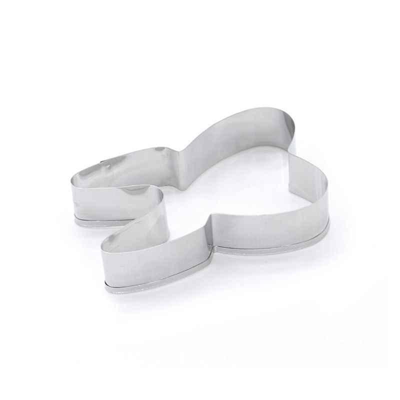 3 יח'\סט נירוסטה 3D מברשת שיניים קוקי קאטר מאפה יצק ביסקוויט עובש DIY עוגת עובש קישוט כלי