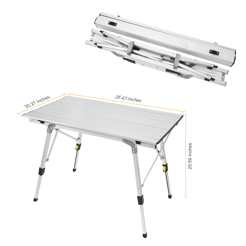 Folding Table Ultra-light Aluminium Alloy Foldable Desk Durable Portable Outdoor Picnic Tables For Barbecue Camping TB S aluminum alloy portable outdoor tables garden folding desk with waterproof oxford cloth