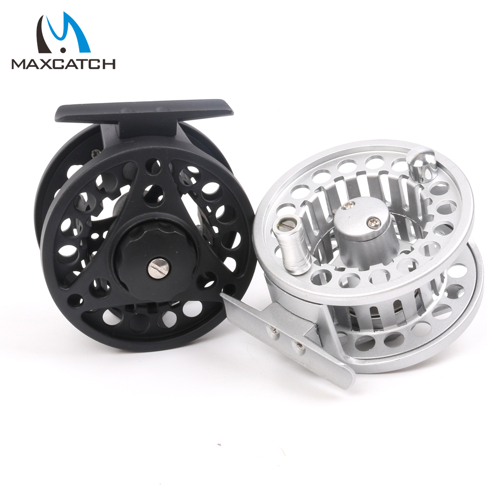 Maxcatch 7/8wt Fly Fishing Reel Aluminum Frame And Spool Right/Left Hand Can Be Changed Die-Casting Fly Reel 95mm fly fishing reel 7 8 cnc machined aluminum 2 1bb fly spool fishing wheel fishing accessory