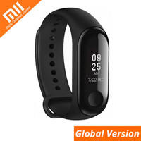 Original Xiaomi Mi Band 3 Global Version Smart Wristband Touch Screen Message Heart Rate Time Smartband Fitness Bracelet Watch