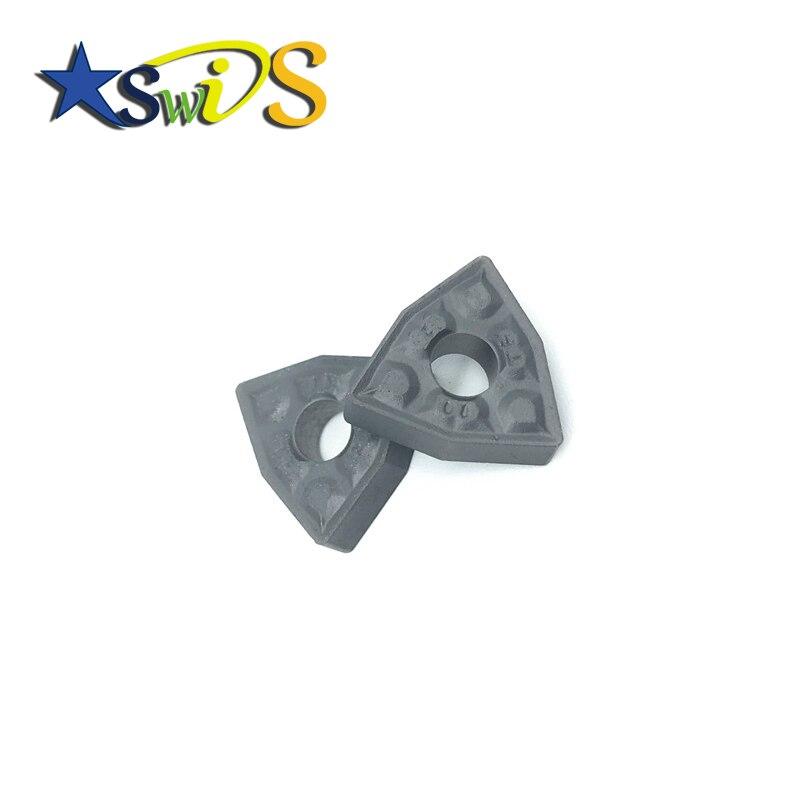 10Pcs WNMG080408-TF IC907 WNMG432-TF CNC Carbide Inserts