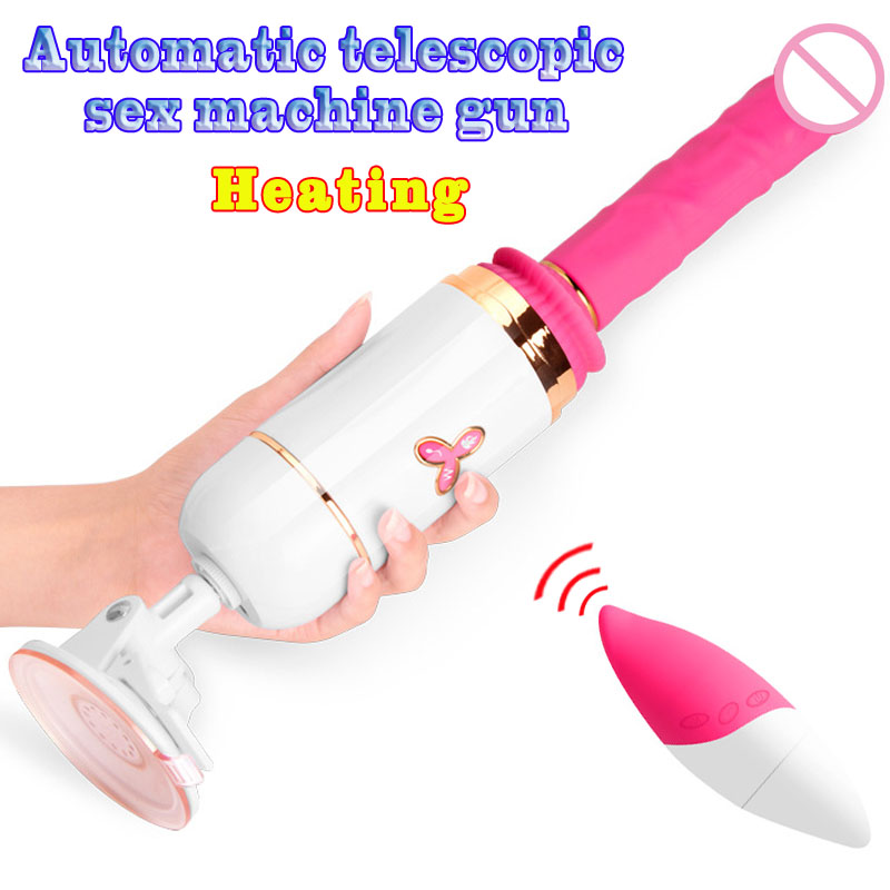 Remote control telescopic vibrating <font><b>dildo</b></font> <font><b>sex</b></font> <font><b>machine</b></font> silicone <font><b>dildo</b></font> vibrator realistic penis Heating <font><b>dildos</b></font> for women <font><b>sex</b></font> toys image